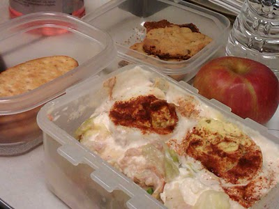 Lunch in Separate Containers