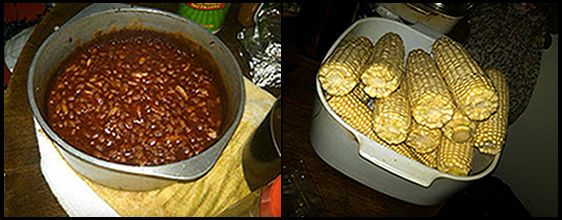 'Mommy's 'Double' Baked Beans, and Cousin's Corn