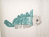 Time of the Dinosuars (Elmuer: Stegosaurus) [Artwork by Eddie Brown]