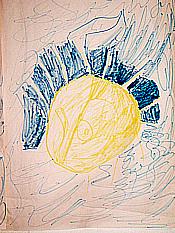 Time of the Dinosuars (Sun) [Artwork by Eddie Brown]