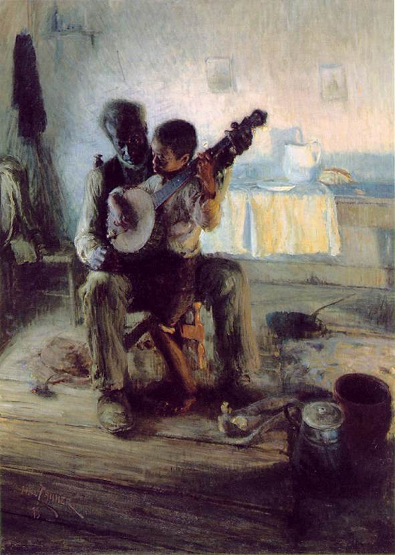 The Banjo Lesson - Henry Ossawa Tanner