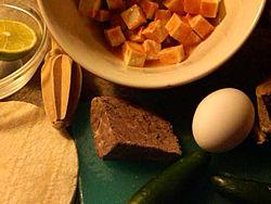 Southwest Philly Steak & Eggs [ingredients]