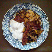 Cobbler Potpourri Bacon Frozen Yogurt