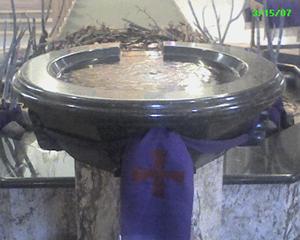 Cathedral Basilica of Saint Francis of Assisi (Baptisimal Font 1)